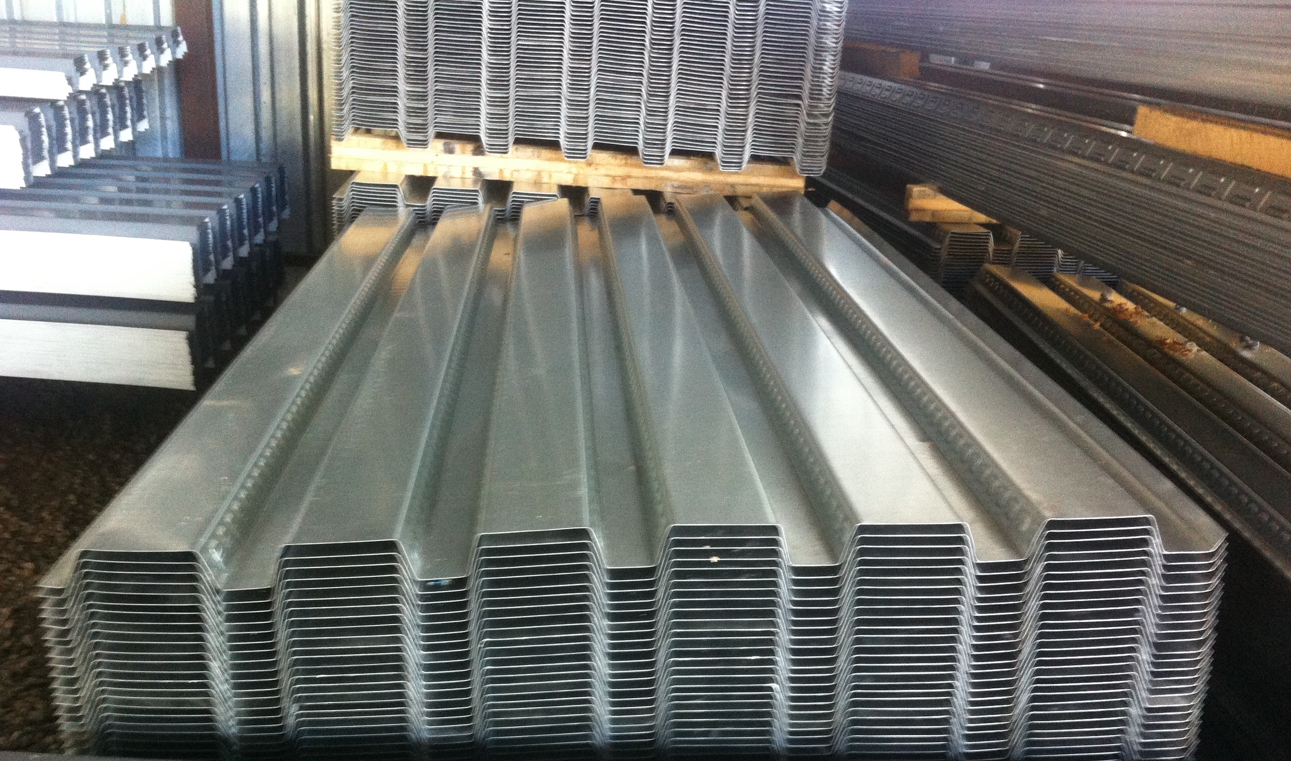 Deck Yard We Sell Secondary And Surplus Steel Decking